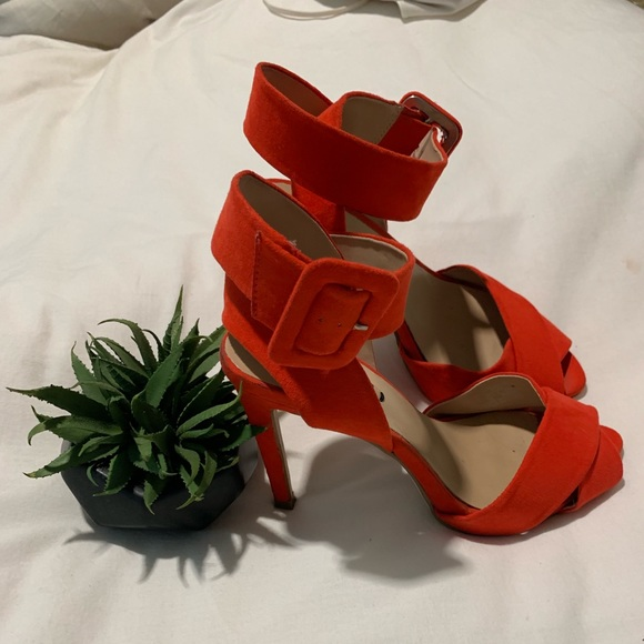 Zara Shoes - Red Zara heels